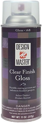 Design Master DM-HDF-169 Home Decor Finish Aerosol Spray, 12-Ounce, Clear Matte