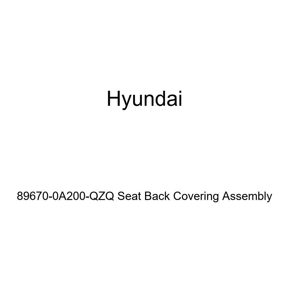 Genuine Hyundai 89670-0A200-QZQ Seat Back Covering Assembly