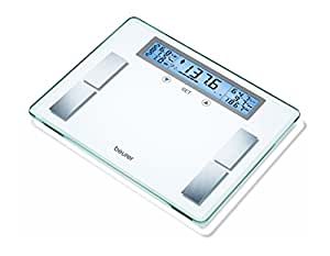 Beurer Glass Body Analysis Scale With Extra Large LCD Display