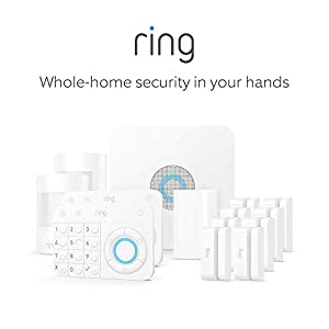 Ring Alarm 14 Piece Kit (1st Gen) – Home Security System with optional 24/7 Professional Monitoring – No long-term contracts – Works with Alexa