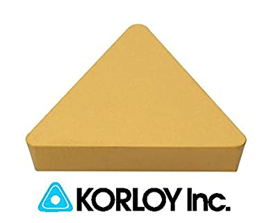 10pc) Korloy TPG 322 NC3030 160308 Indexable Carbide Inserts