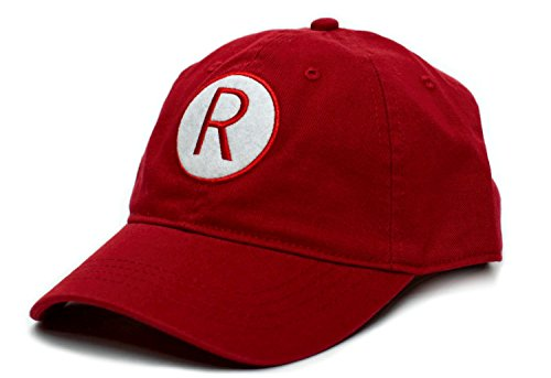 A League of Their Own Rockford Peaches R Baseball Movie Cap Hat Red