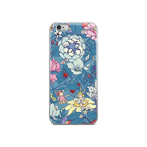 iPhone 6/6s Case Anti-Scratch Creature Animal Transparent Cases Cover Garden Party Earl Gray Version Animals Fauna Crystal Clear