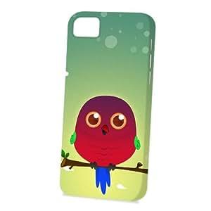 Case FunDiy For Iphone 4/4s Case Cover Vogue Version - 3D Full Wrap - Australian King Parrot by DevilleART