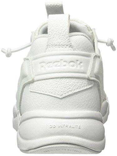 Reebok Unisex-Erwachsene Furylite Low-Top Weiß (White/White/Black)