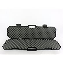 """Condition 1 #759 40"""" Black Hard Rifle Case with Convoluted Foam"""