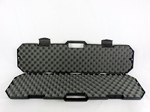 Condition-1-759-40-Black-Hard-Rifle-Case-with-Convoluted-Foam