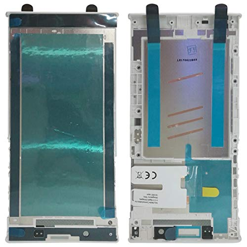 Yang Mobile Phone & Spare Parts Front Housing LCD Frame Bezel for Sony Xperia L1 (Black) (Color : White) ()