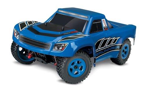 Traxxas LaTrax Electric 4WD Desert Prerunner Remote Control Race Truck with 2.4GHz Radio (1/18 Scale), Blue (Parts Prerunner Truck)