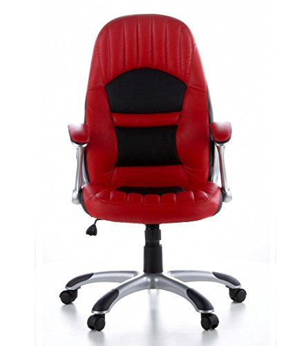 BTM-Executive-Chair-Office-Chair-RACER-200-Art-Leather-RedBlack