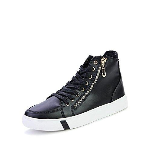 Confortevole Color tacco Black lacci Nero da con sneaker shoes Per 39 tennis il Dimensione Xiaojuan da uomo scarpa libero EU Bianco tempo piatto Red na0T7qZB