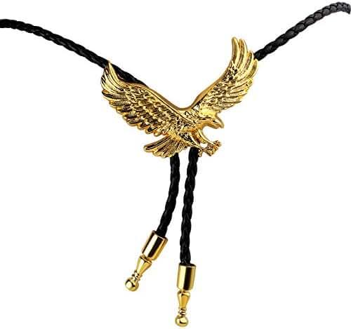 Huabola Native American Eagle Bolo Ties