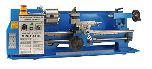 Great Features Of Erie Tools 7 x 14 Precision Bench Top Mini Metal Milling Lathe Variable Speed 2500...