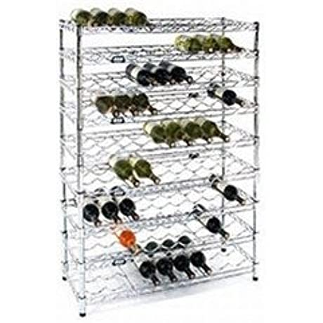 Wine Rack With 9 Shelves 14 D X 36 W X 72 H