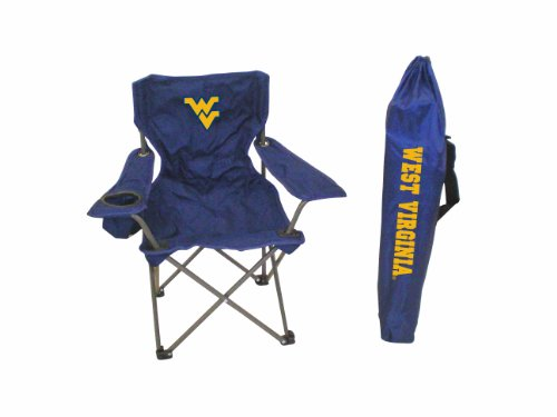 Rivalry NCAA West Virginia Mountaineers Youth Folding Chair With Carrying (West Virginia Adult Chair)