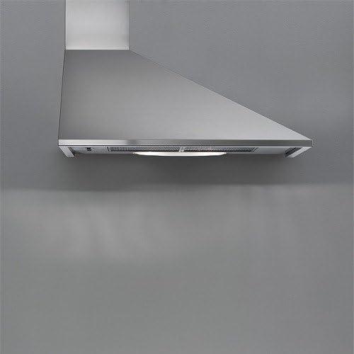 Falmec-Campana de pared con columpio chimenea a la derecha de acero inoxidable 90 cm, potencia 600m3/h: Amazon.es