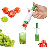 Fruit Vegetable Cutter Grape Slicer Auxiliary