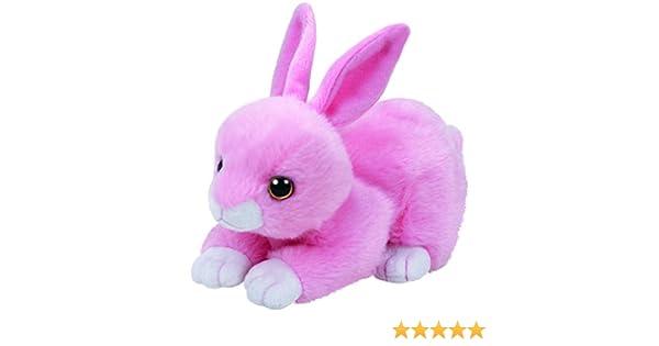 Ty 41178 - Beanie Babies Walker - Conejo, 15 cm, Color Rosa: Amazon.es: Juguetes y juegos