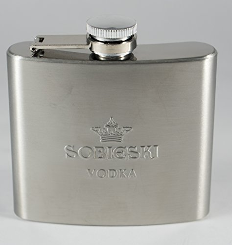Sobieski Vodka Stainless Steel Hip 5oz Flask by ()
