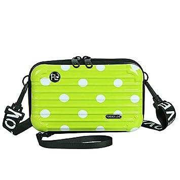 Amazon.com: A-KEY - Mini maleta rígida para cosméticos ...