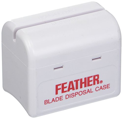 Feather Styling Razor Disposal Case Razor Blade Disposal