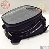 Marsee 12 Liter Tear Drop Tank Bag Expandable, Universal Fit (MAR-12DQR)