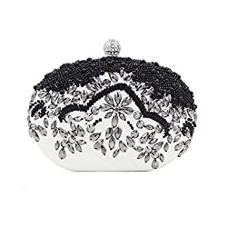 Elegantly Beaded Clutch