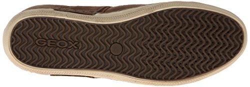 Geox U BOX - zapatillas deportivas altas de piel hombre marrón - Braun (DESERT/WHISKYC5067)