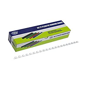 FIS 50 mm Plastic Binding Rings 480 Sheets - FSBD50WH