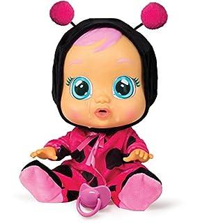 Cry Babies Lady The Ladybug Doll, Black/Magenta