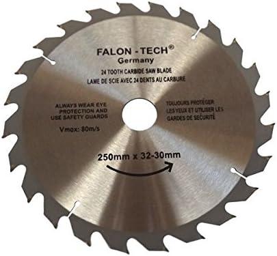 Falon Tech 200/mm Hoja de sierra Top calidad Sierra circular para madera 200/x 32//–/30/mm, 60/dientes