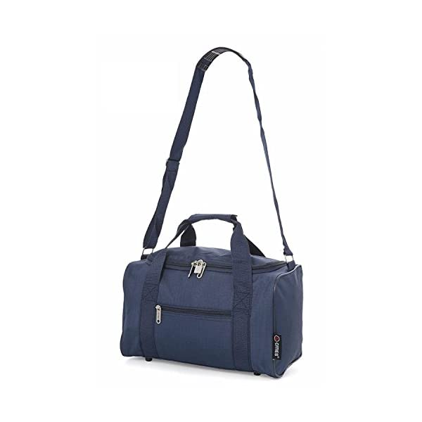 5 Cities 35x20x20 Maximum Ryanair Cabin Hand Luggage Holdall Flight Bag ( Navy) - thetravelbagshop.co.uk 30629bb5b6