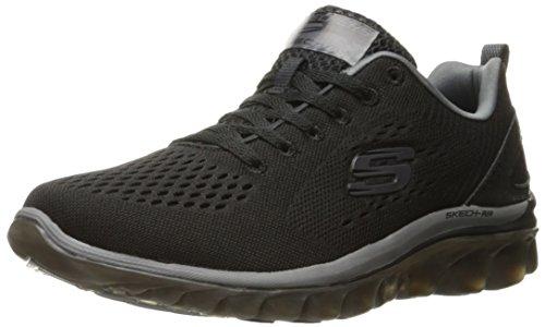 Skechers (SKEES) SKECH-AIR 2.0- ZERO GRAVITY - Zapatillas de deporte para hombre, color negro, talla  46