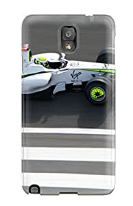 Galaxy Note 3 Case Cover - Slim Fit Protector Shock Absorbent Case (formula 1 Grand Prix )