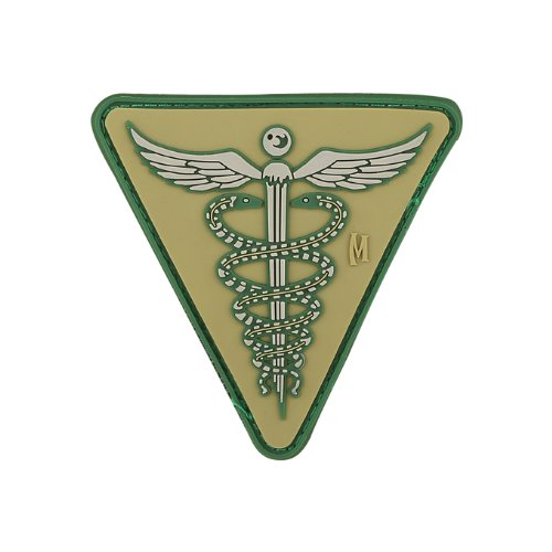Maxpedition Gear Caduceus Patch, Arid, 2.6 x - Shopping In Chicago Loop
