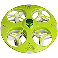 UFO Drone Quadcopter 2.4G 4 CH 6 Axis Remote Control RTF with Lights Atlantis Toy and Hobby