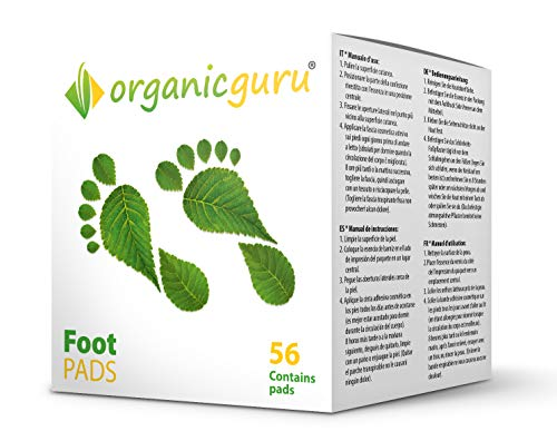 Detox Foot Patches – 4 Week Supply – 56 Patches – 100% Pure & Natural Ingredients