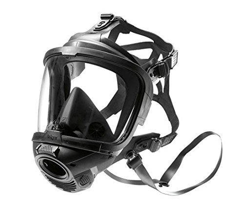 German Civilian Draeger FPS 7000 Full Face Mask, Medium, Highly Chemically Resistant EPDM Rubber. Excellent  for Hazardous Conditions With Poor Visibility by Drager (Image #4)