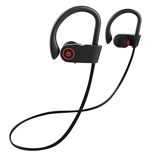 Joly Joy Auriculares Bluetooth, Audifonos Deportivos con Micrófono Bluetooth V4.1 Manos Libres para Correr, Auriculares...