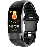 Smart Bracelet ECG HRV Blood Pressure Heart Rate Monitor Fitness Tracker Smart Watch IP67 Waterproof Activity Tracker Smart Band for Android, iOS