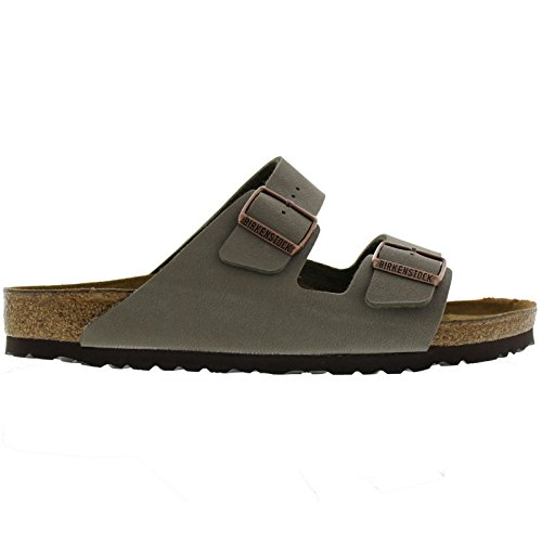 Birkenstock womens Arizona in stone from Birko-Flor Sandals