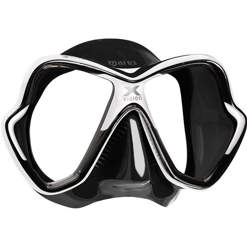 Mares X-Vision Mask (2017 Version) Black White