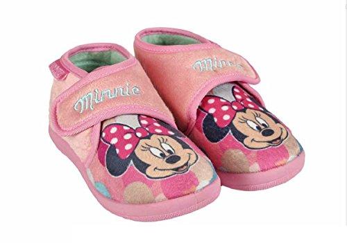 Minnie Zapatillas de estar Por casa de Material Sintético Para Niña Rosa Rosa 28