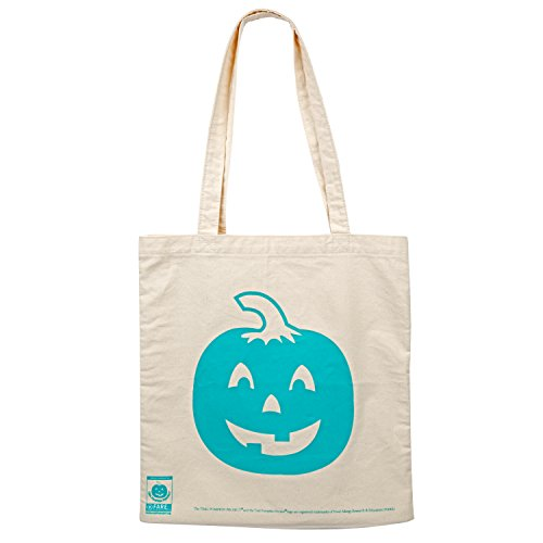 SCS DIRECT Official Teal Pumpkin Halloween Canvas Trick or Treat Bag -14