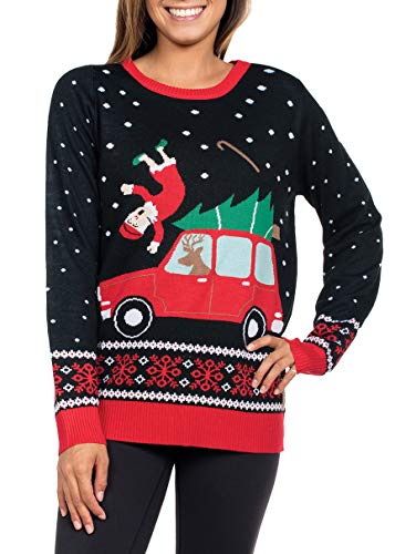 Funny Grandma Got Run Over Xmas Sweater
