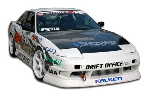 Duraflex ED-FED-434 B-Sport Body Kit - 4 Piece Body Kit - Fits Nissan 240SX - 1989 1990 1991 1992 1993 1994 | 89 90 91 92 93 94 (240sx Kits Body)