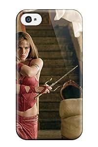 Hot Style WuDKMFS5333xvKzf Protective Case Cover For Iphone4/4s(jennifer Gardner As Elektra)