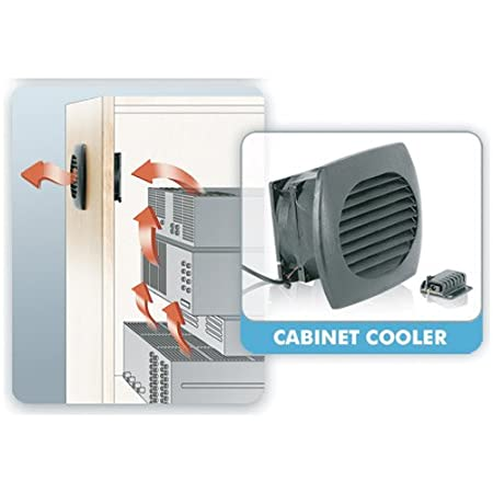 Amazon.com: Middle Atlantic Products CAB COOL Cooling Fan: Computers U0026  Accessories