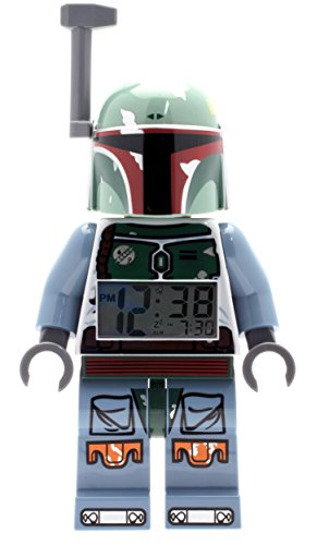 - LEGO 9003530 Star Wars Boba Fett Minifigure Light Up Alarm Clock