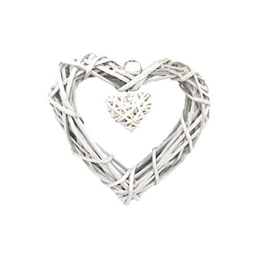 Vosarea Love Hearts Wicker Hanging Crafts Wall Hanging for sale  Delivered anywhere in Canada